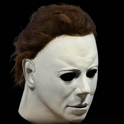 Michael Myers Mask Latex Halloween Costume Party Prop