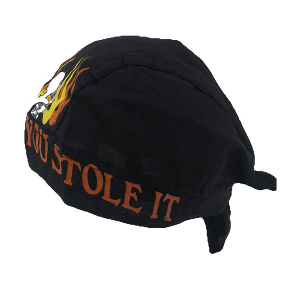 Ride It Like You Stole It Bouffant Scrub Hat