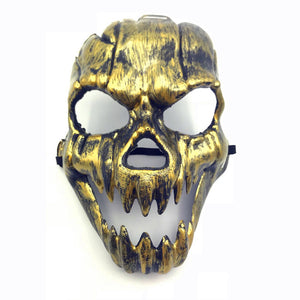Skull Heads Sharp Teeth Scary Ghost Mask Halloween Costume Party Props