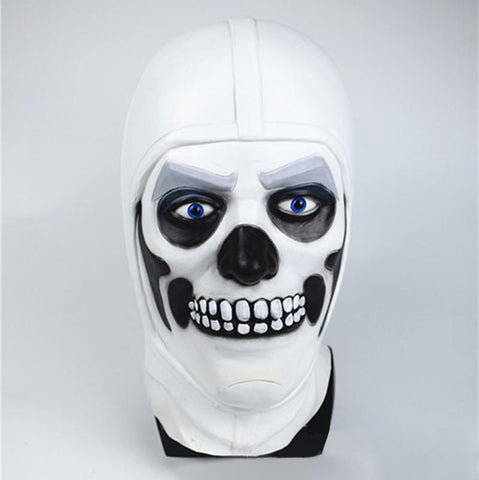 Skull Trooper Latex Mask Fortnite Halloween Costume Party Props