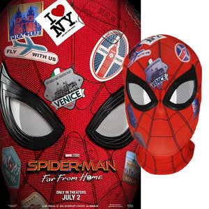 Spiderman Hood Mask Spider-Man: Far From Home Costume Prop
