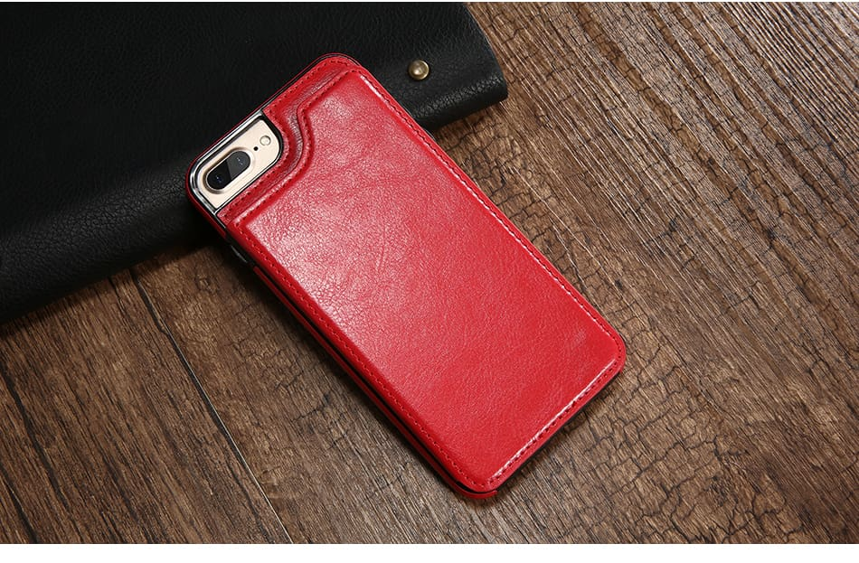 Flip Leather Case For iPhone 7 6 6S Plus YYF  (10)