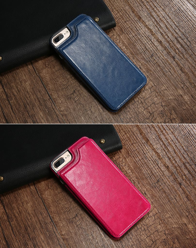 Flip Leather Case For iPhone 7 6 6S Plus YYF  (9)