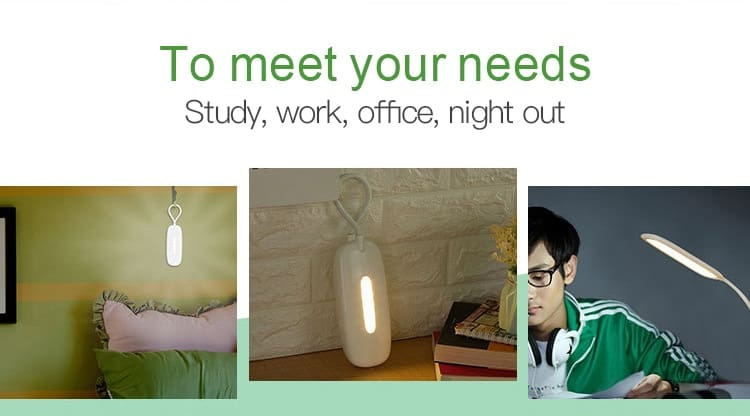 Multifunction LED Desk Lamp Touch Sensor Table Lamp 3 Modes USB Rechargeable Night Light 4000K Eye Protection For Study Reading