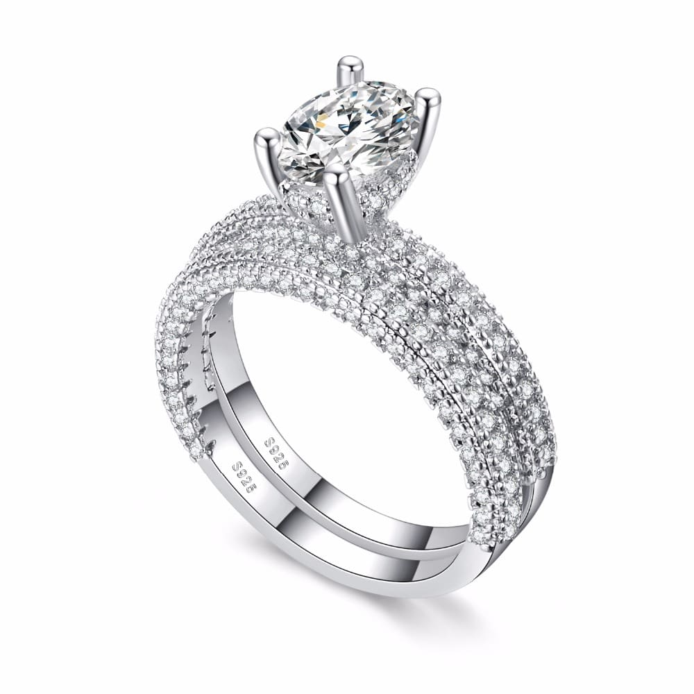 KNOCK-high-quality-Rose-Gold-Double-row-White-gold-For-Women-Fashion-Cubic-Zirconia-Wedding-Engagement (2)