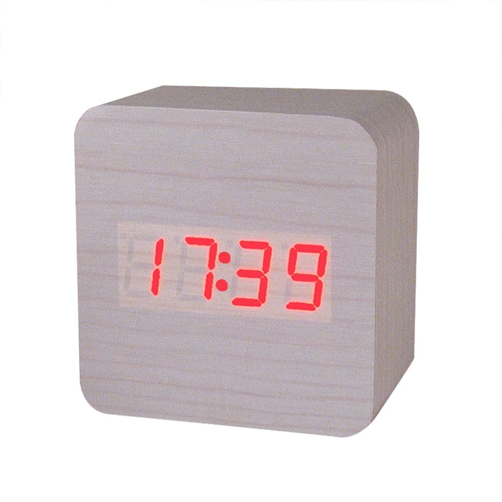 MINI Wooden LED Alarm Clocks