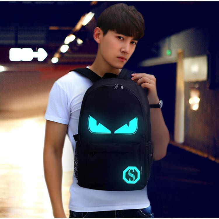 Backpack Anime Luminous USB Charge