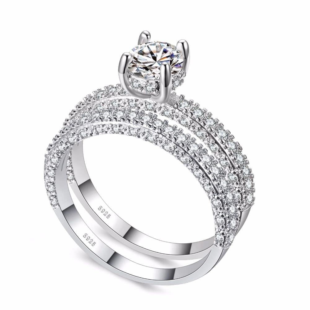 KNOCK-high-quality-Rose-Gold-Double-row-White-gold-For-Women-Fashion-Cubic-Zirconia-Wedding-Engagement (4)