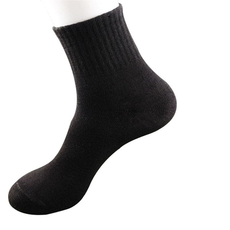 a close up of a sock