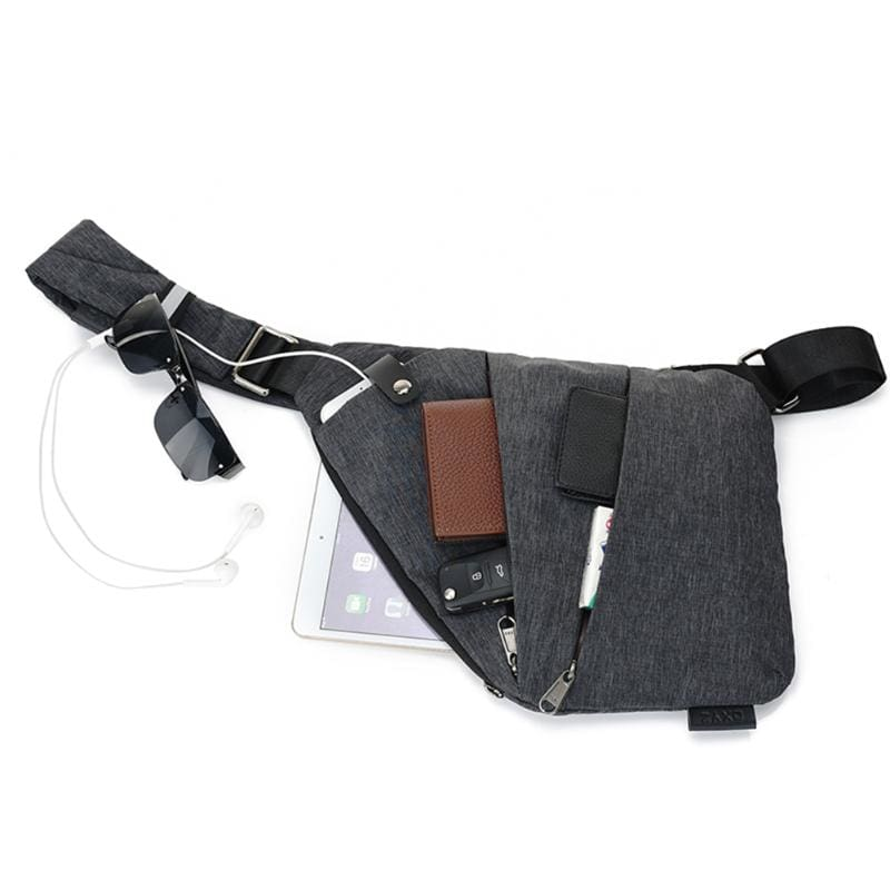 Anti-Theft Male Chest Bag