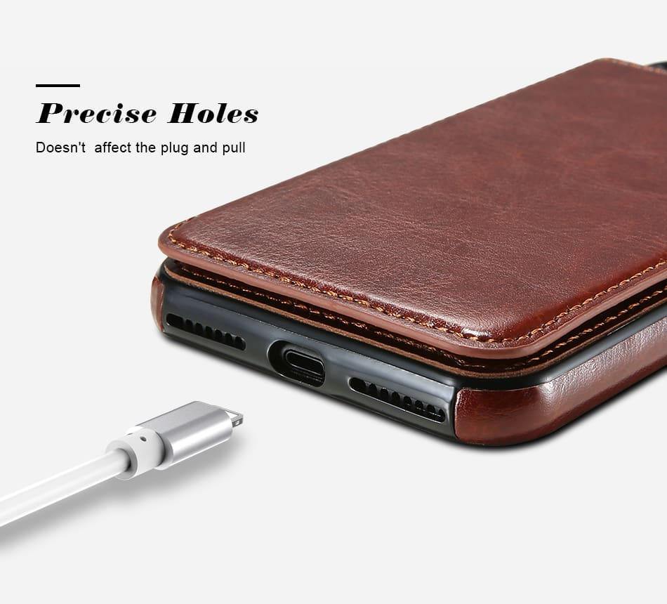Flip Leather Case For iPhone 7 6 6S Plus YYF  (3)