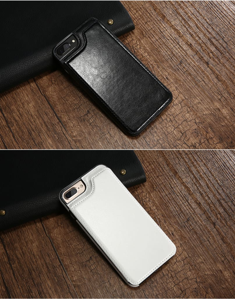 Flip Leather Case For iPhone 7 6 6S Plus YYF  (8)