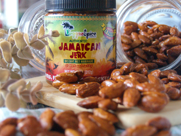 Sweet and Sassy Jamaican Jerk Candied Almonds