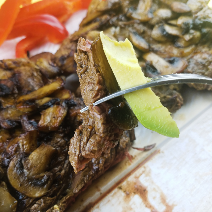 Ribeye Steak & Mushrooms Recipe