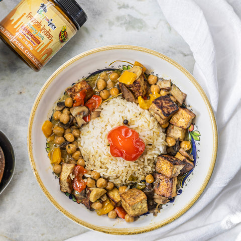 French Indian Vegan Curry