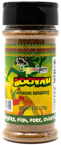 Booyah Jamaican Seasoning - Case of 12 - Jamaican Jerk Seasoning Marinade Sauce