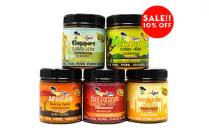 Curry Marinade Seasoning Pack - Jamaican Jerk Seasoning Marinade Sauce