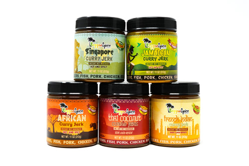 Curry Marinade Seasoning Pack - Reggaespice