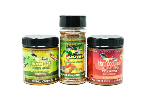 Mini Curry Pack Marinade Seasoning #2 - Jamaican Jerk Seasoning Marinade Sauce
