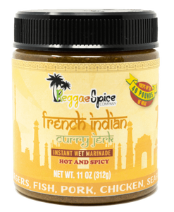 French Indian Curry Jerk Marinade Seasoning - Reggaespice