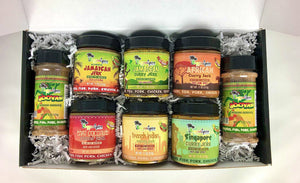 The World Tour Marinade Seasoning Gift Box - Jamaican Jerk Seasoning Marinade Sauce