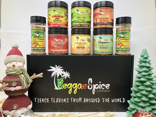 HOLIDAY THE WORLD TOUR MARINADE SEASONING PACK - Jamaican Jerk Seasoning Marinade Sauce