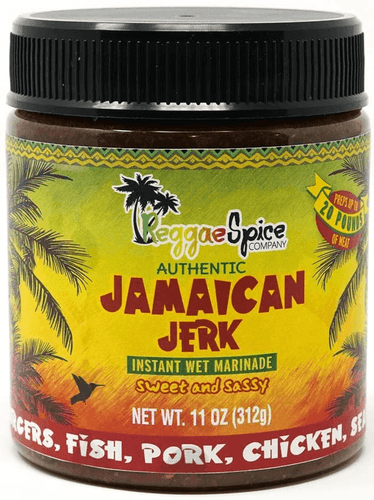 Jamaican Jerk Marinade - Case Of 12 - Jamaican Jerk Seasoning Marinade Sauce
