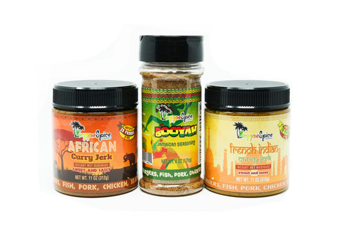 Mini Curry Pack Marinade Seasoning #1 - Jamaican Jerk Seasoning Marinade Sauce