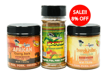 Load image into Gallery viewer, Mini Curry Pack Marinade Seasoning #1 - Jamaican Jerk Seasoning Marinade Sauce
