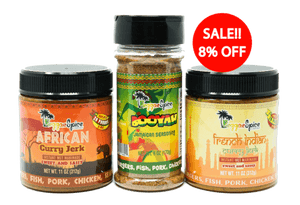 Mini Curry Pack Marinade Seasoning #1 - Reggaespice