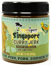 Load image into Gallery viewer, Singapore Curry Jerk - Case Of 12 - Jamaican Jerk Seasoning Marinade Sauce
