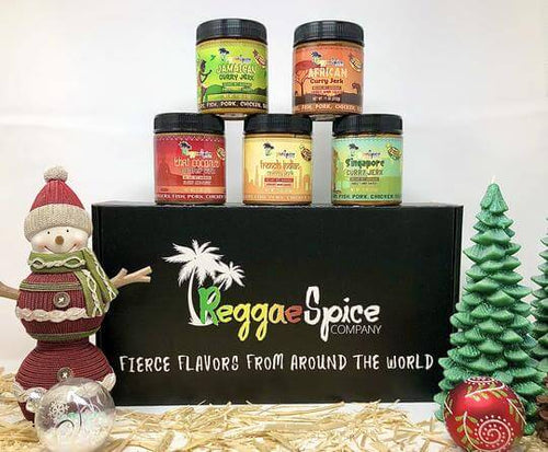 Reggae Spice Company Holiday Curry Marinade Seasoning Pack
