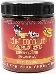 Thai Coconut Curry Jerk Instant Wet Marinade