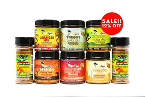 The World Tour Marinade Seasoning Pack - Jamaican Jerk Seasoning Marinade Sauce
