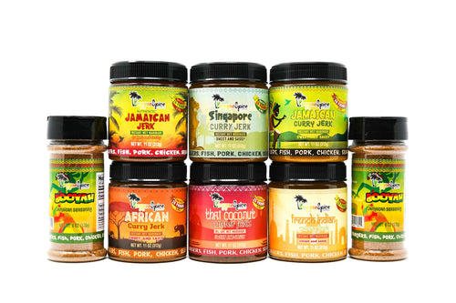 The World Tour Marinade Seasoning Pack - Reggaespice