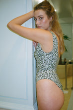Load image into Gallery viewer, Cheetah Cheeky Swimsuit