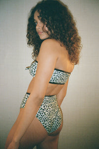 Cheetah Cheeky Swim Bottoms
