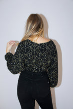 Load image into Gallery viewer, Chandelier Crossover Blouse