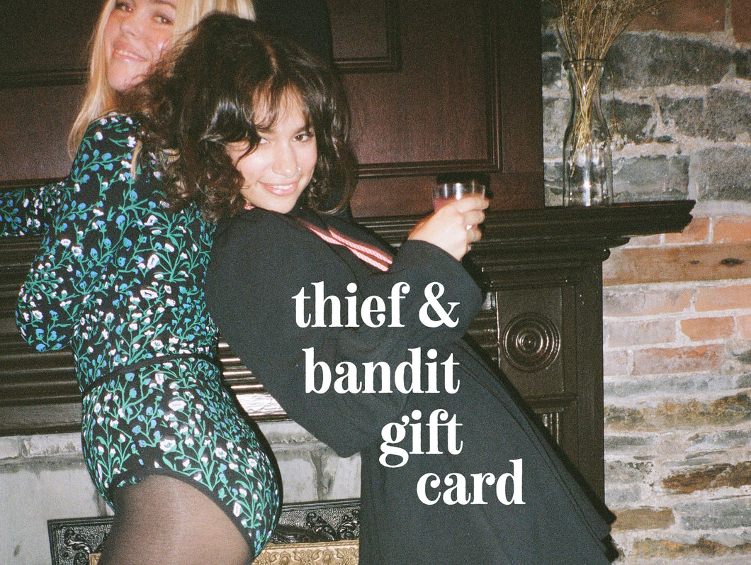 Thief&Bandit Gift Card