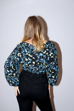 Load image into Gallery viewer, Lunar Moth Crossover Blouse