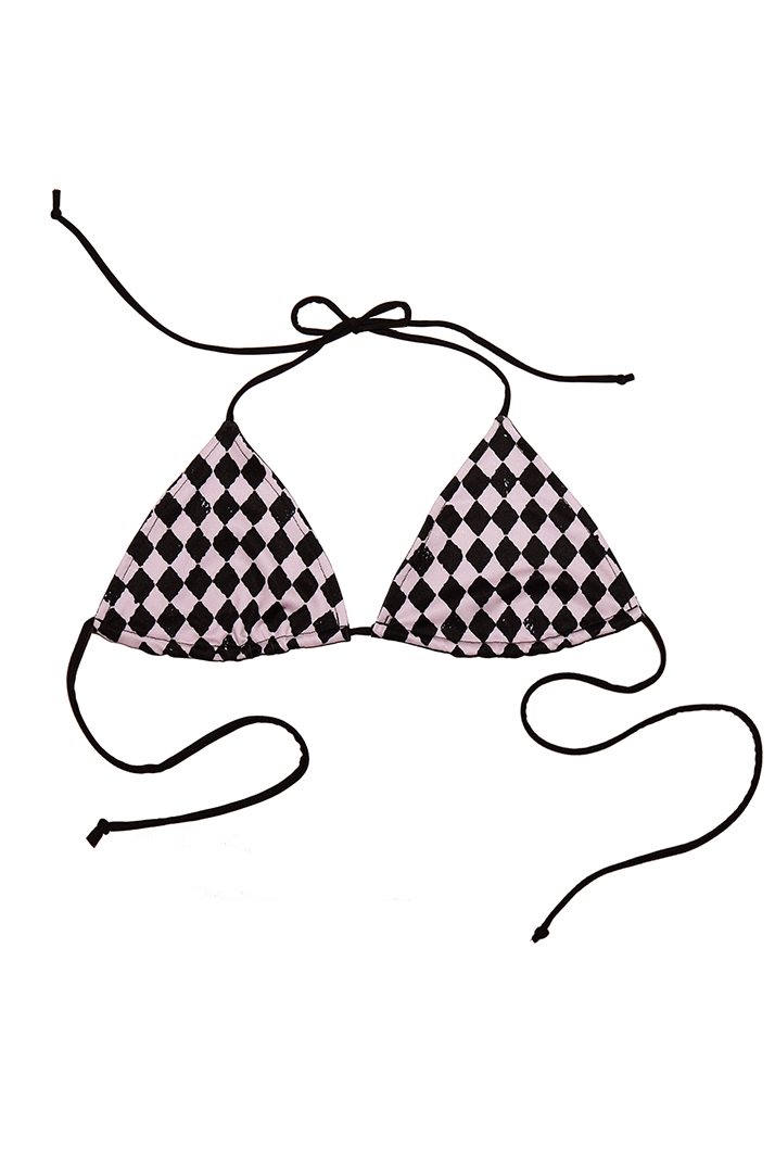 Diamond String Bikini Top