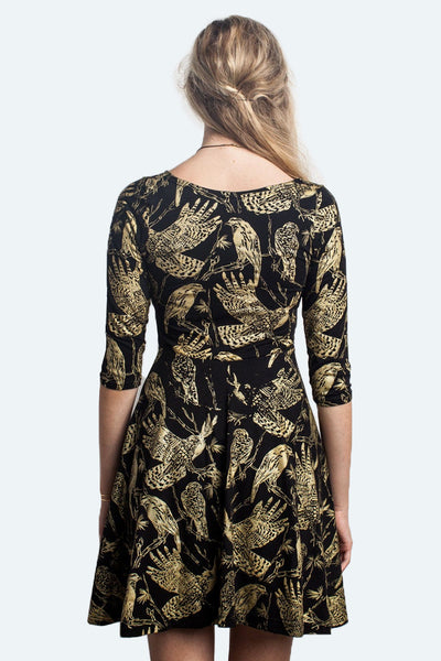 Birds of Prey Twirl Dress