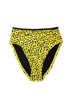 Load image into Gallery viewer, Cheetah Cheeky Swim Bottoms