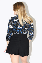 Load image into Gallery viewer, Swan Lace Trim Top