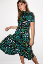 Load image into Gallery viewer, Uprooted Mockneck Twirl Dress