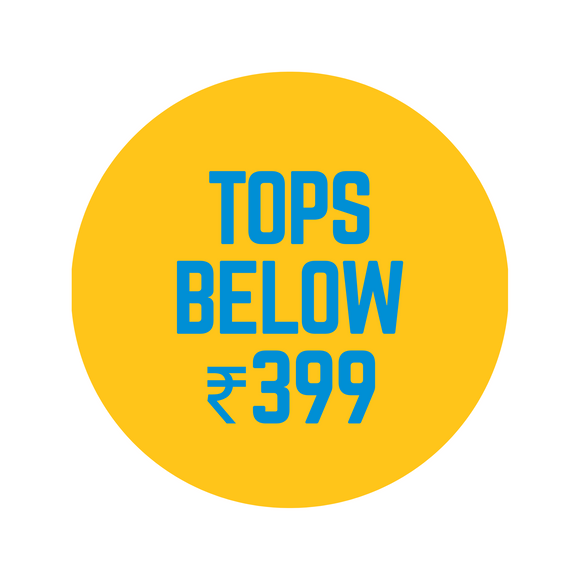 Tops Below ₹399
