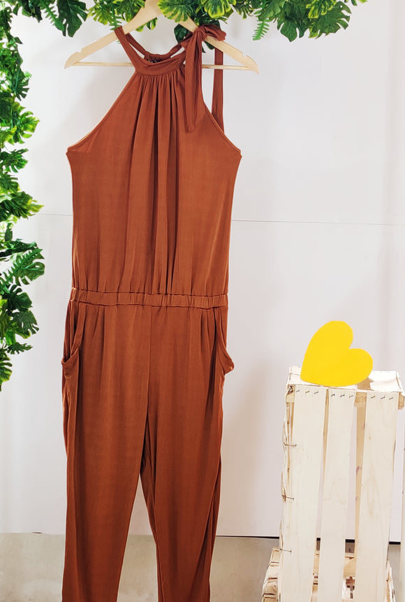 CHEMISTRY - Jumpsuit with Pockets (sz L, With Tag)