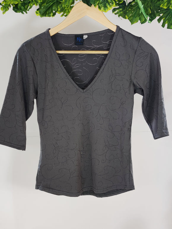 V Neck Top (sz M / L)