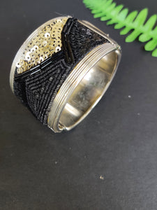 Sequinned Bangle Cuff