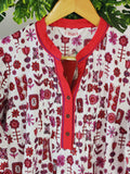 BIBA - Kurta with Mandarin Collar (sz 38, With Tag)